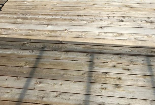 Deck Cleaning Image - Washing Services in Salem