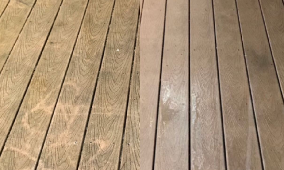 Free Estimate for Deck Cleaning Services